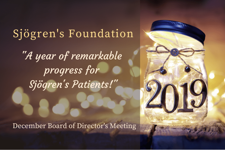 Sjogrenslife- Sjögren's Foundation December 2019 Board